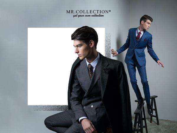 Mr Collection 三件套羊毛布料個人訂制服務