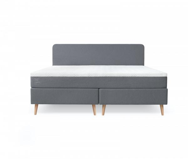 TEMPUR One med Grey 180x200 pack double front inframe1  床褥半價