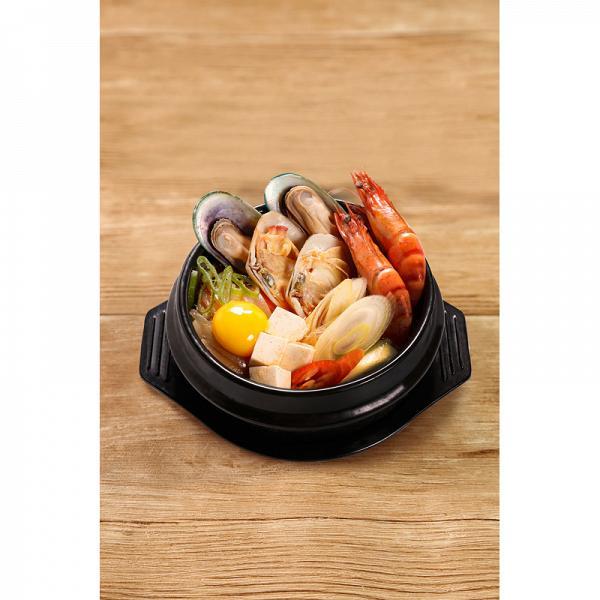 辣海鮮豆腐湯 配白飯 HK$ 68
