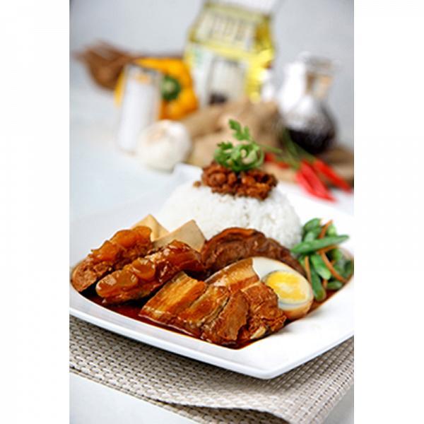 豬軟骨肉燥飯套餐 2份 二人同行價︰HK$ 66