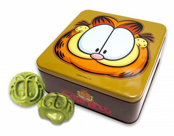 加菲貓大頭鐡罐抹茶流心月餅(4件) 早鳥$188
