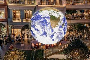 全港首個7米巨型自轉地球登陸灣仔荃灣︱觀塘尋寶影相半日周圍遊