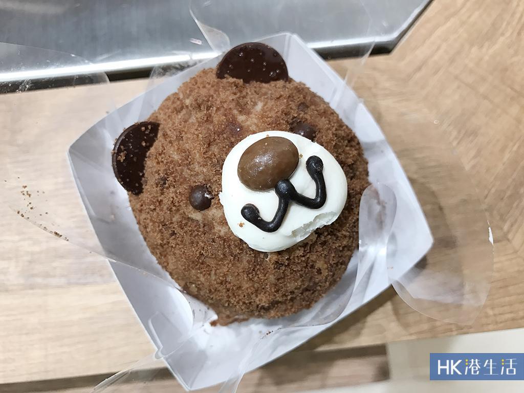 小朋友必爱的可爱动物造型蛋糕:欢乐熊猫蛋糕$35及熊宝宝蛋糕$32.