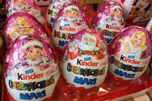 聖誕巨蛋!14cm特大版Kinder出奇蛋