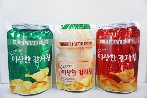 益力多乜乜乜 韓國「奇怪」飲品味薯片