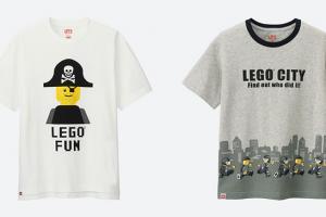 滿額送獨家LEGO贈品!UNIQLO再推LEGO UT