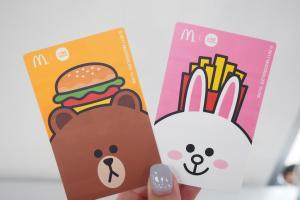 麥當勞 x LINE FRIENDS!公仔餐飲優惠咭套裝登場