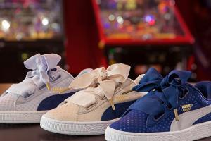 滿足藍色控!PUMA蝴蝶結球鞋推新系列