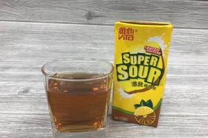 限定維他激酸檸檬茶 酸到飛起?!