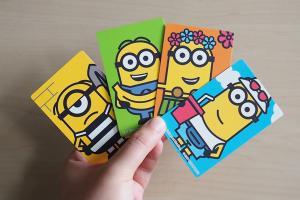 麥當勞新推出Minions 為食咭 套裝送得意卡片套!