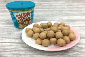 花生醬變零食 Skippy花生醬粒粒餅乾