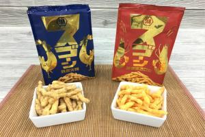 周年限定蝦味粟米條 龍蝦+櫻花蝦+甜蝦特製啖啖鮮蝦味