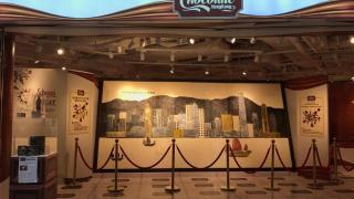山頂朱古力博物館 全球最大幅朱古力畫免費任影