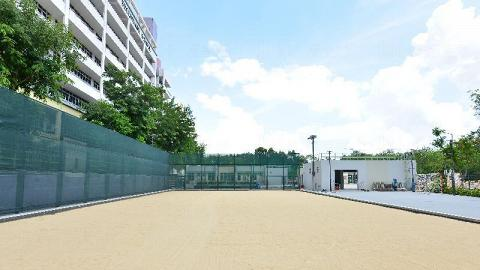 天業路人造沙灘球場