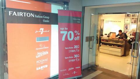 Fairton Labels Fashion Warehouse