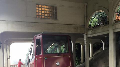 白加道纜車站