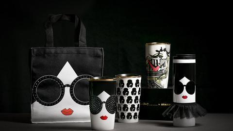 閃亮水晶型格設計!Alice + Olivia X Starbucks咖啡杯