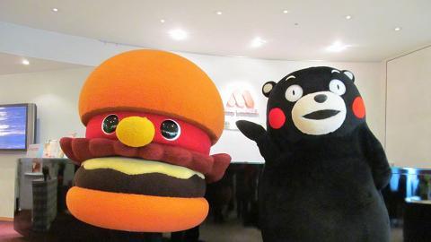 香港都有得賣!熊本熊主題漢堡登陸MOS Burger