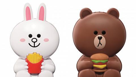 食麥當勞換LINE風扇仔! 3款可愛角色陪你涼住過炎炎夏日
