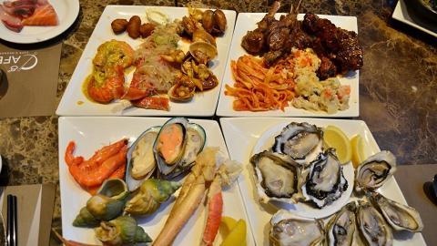 酒店海鮮自助餐 3.5小時任飲任食即開生蠔+多款海鮮