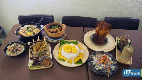 佐敦新開泰國菜 芒果糯米飯+火焰燒春雞好吸引
