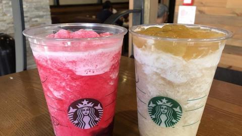 啖啖巨峰提子蘆薈 Starbucks最新推出兩款星冰茶!
