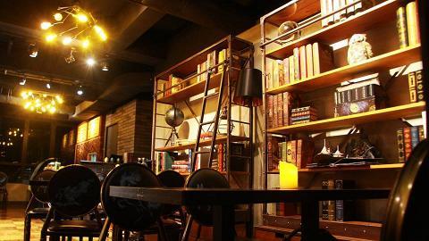 旺角新開魔法主題樓上Cafe 食品+佈置融入哈利波特小說元素!