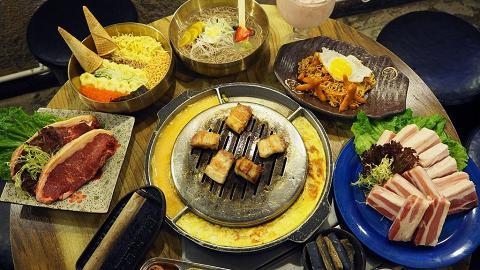 $88韓燒任食五花腩 4 人同行再送水冷麵