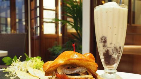 灣仔新開樓上懷舊茶室 30年代陽台歎原隻蝦多士+雪糕紅豆冰