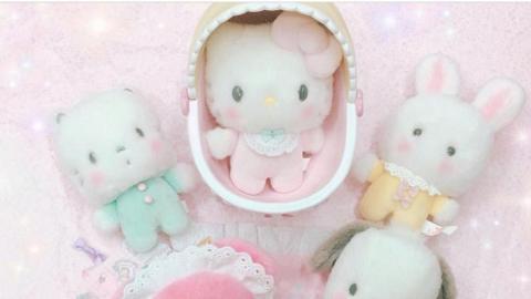 BB造型角色登場!Sanrio全新Baby系列精品