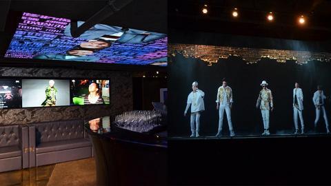 同GD合照+錄音  香港首間全息演唱會體驗館登陸中環