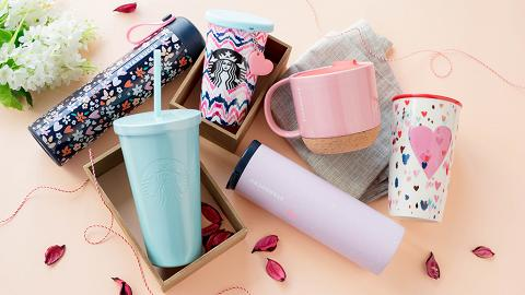 Starbucks新系列粉色情人節杯 人氣脆脆朱古力星冰樂再度回歸!