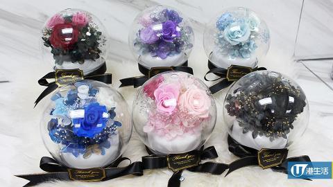觀塘自製情人節限定禮物 日本保鮮花香薰加濕機!