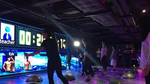 全港首間24小時韓式Gym房!音樂健身/跳舞/LED單車/拳擊