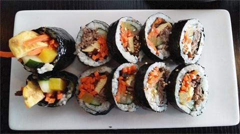 太和站 CHA:RM 韓國餐廳 紫菜牛卷