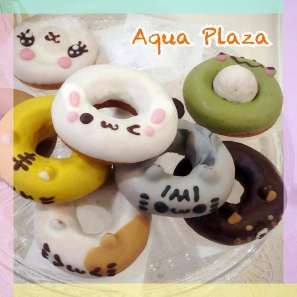 日本超可愛冬甩Ikumimama Doughnuts 來源: AQUA MODA Facebook