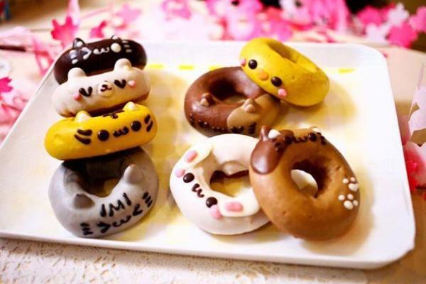 日本超可愛冬甩Ikumimama Doughnuts 來源:D2 Place Facebook