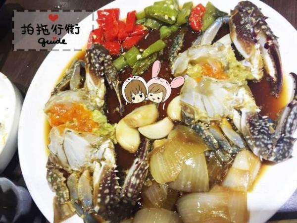 佐敦醬缸小食  醬油蟹(圖:U Blogger-)