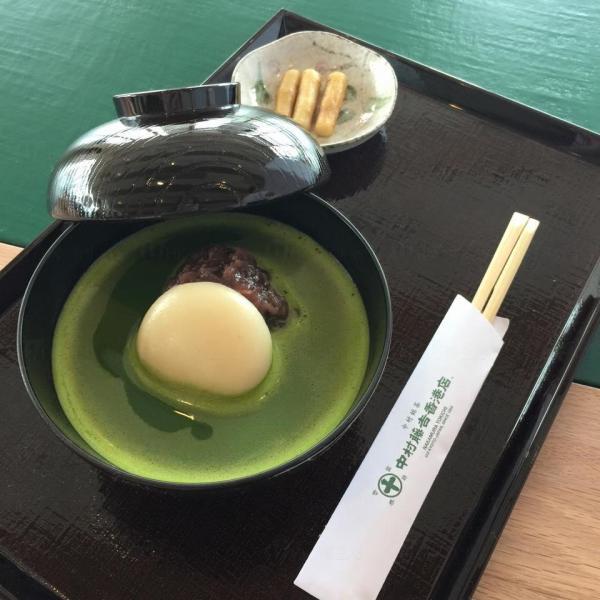The ONE中村藤吉香港店 抹茶大福紅豆湯
