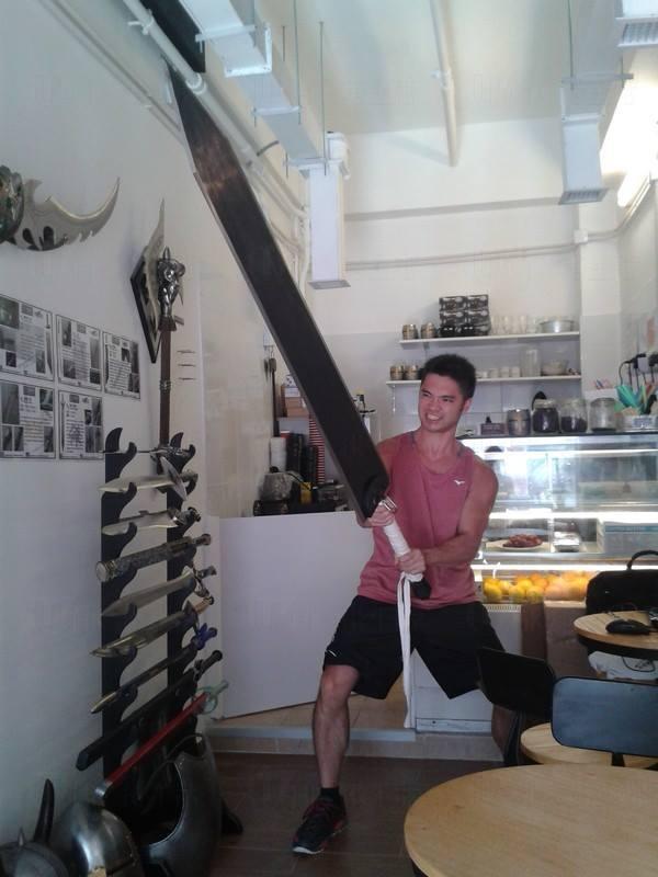 (圖:FB@ 中世紀武器咖啡屋)