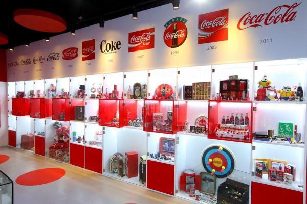 館內收藏逾 2,000 件「可口可樂」珍藏品