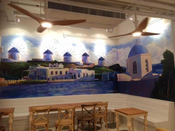 Sky Blue Cafe(圖:FB@James Studio 基本畫室)
