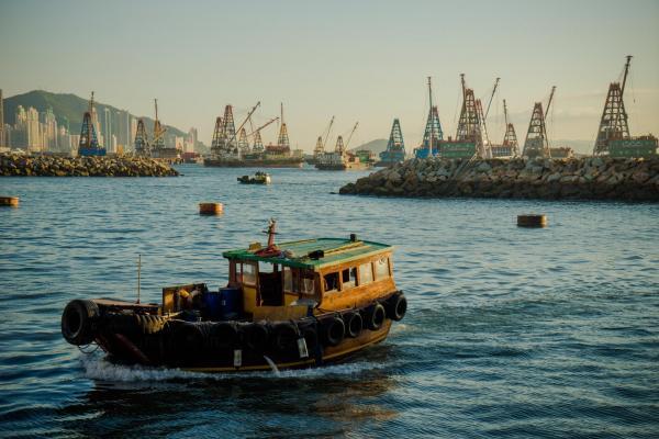 大角咀碼頭(圖:UBlog@跟著小鼠去旅行)