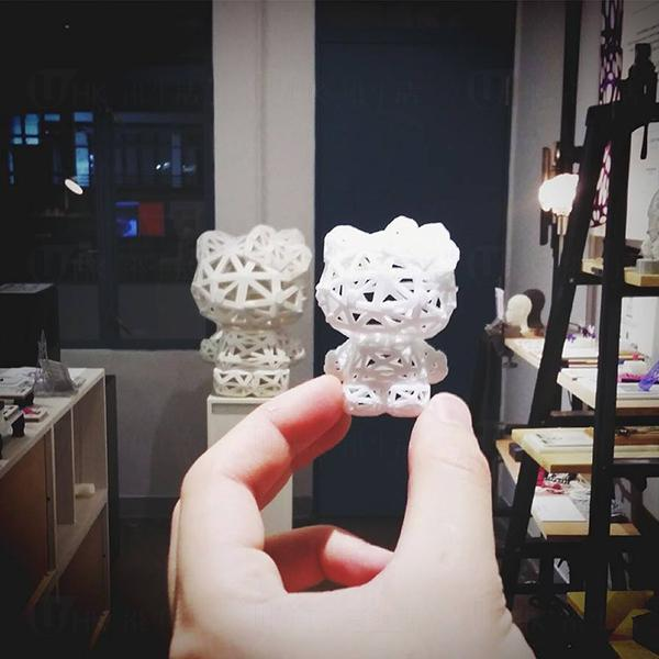 Dust Production  香港首間Hello Kitty 3D Printing概念店 (圖:FB@ Dust Production)