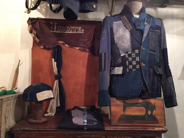 LUDDITE 日系藍染服飾(圖:FB@LUDDITE)