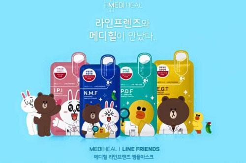 Wishh! Mediheal與LINE FRIENDS