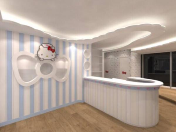 尖沙咀Hello Kitty健康中心(圖:FB@Hello Kitty Health Centre)