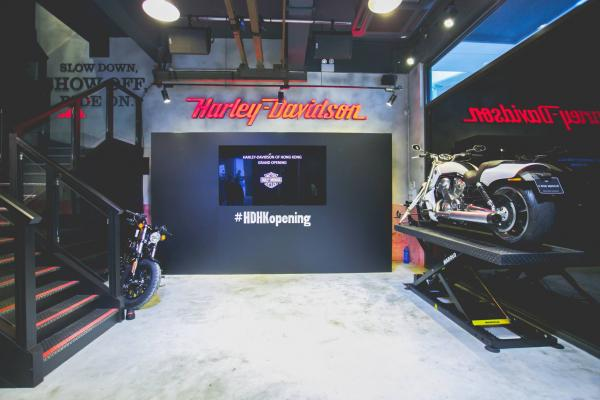 Harley-Davidson陳列室(圖:FB@Harley-Davidson of Hong Kong)