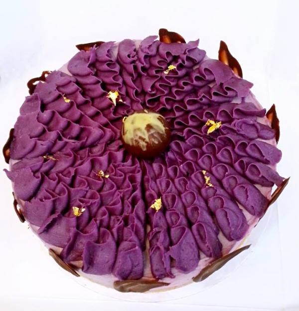 原個紫薯蛋糕(圖: FB@Ultra Violet )