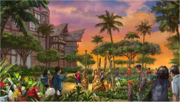 迪士尼探索家度假酒店(圖:官網)